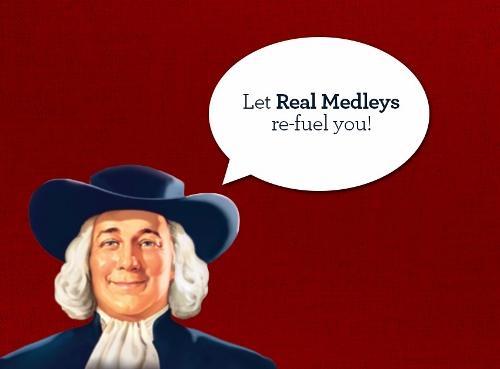Quaker Real Medleys Fruit Bars