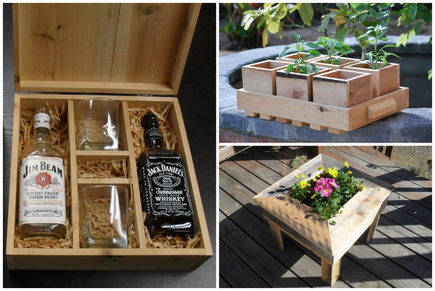 ThinkEco,wooden,spices,planters