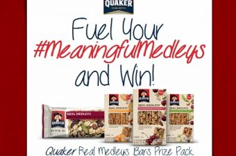 Accomplish Your #MeaningfulMedleys with Quaker Real Medleys Bars