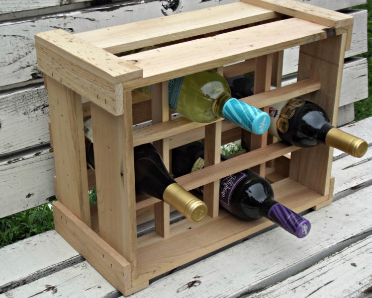 handmade, wine rack,Think Eco,artisan