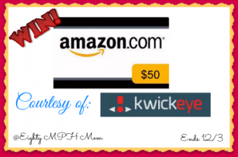 kwickeye,amazon,gift code,giveaway