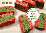 Festive Rice Krispie Treats