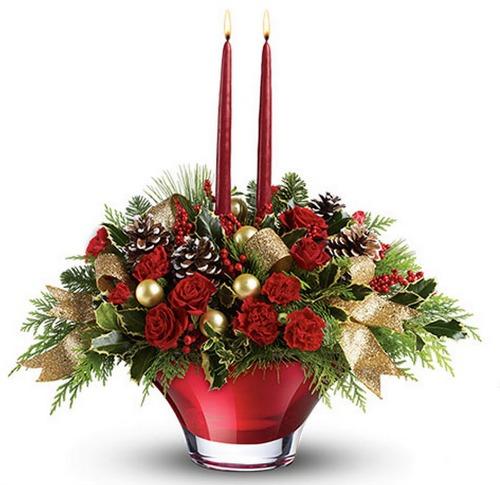 Teleflora, Christmas Flowers,centerpiece,holidays,discount code