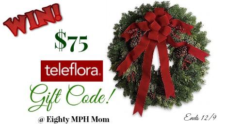 Teleflora,giveaway,gift code,gift certificate
