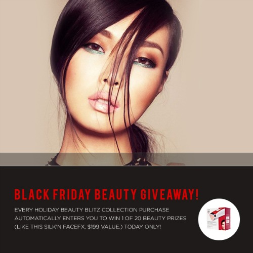 Holiday Beauty Blitz Collection,total beauty,discount code,black friday