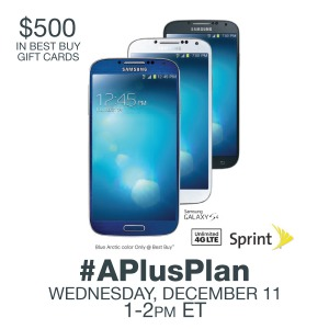 #APlusPlan,Twitter Party,December 11th