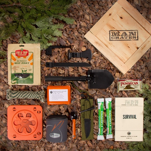 ManCrates - Outdoor Survival Crate