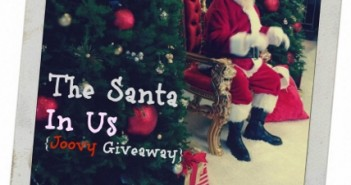 Joovy Santa in Us Giveaway