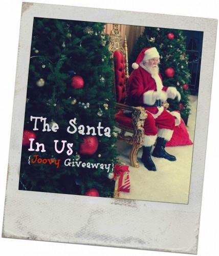 Joovy Santa in Us Giveaway