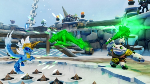 Skylanders SWAP Force Screenshot