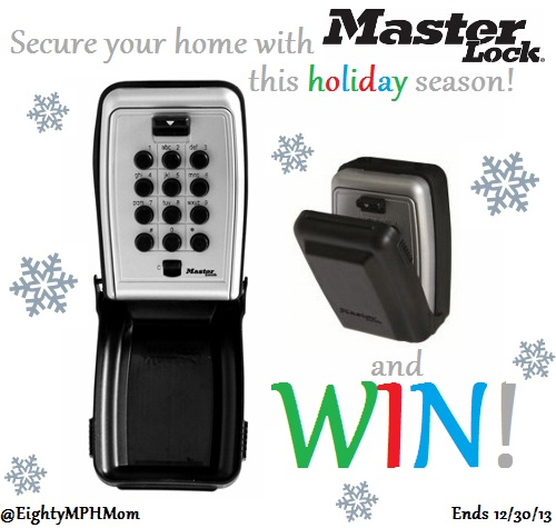 Master Lock Storage Security Mounted Key Box Giveaway  sc 1 st  Eighty MPH Mom & Secure Your Home with Master Lock - Eighty MPH Mom | Oregon Mom Blog