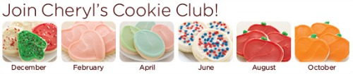Cheryl's, Buttercream, Frosted, Cookie Club,review
