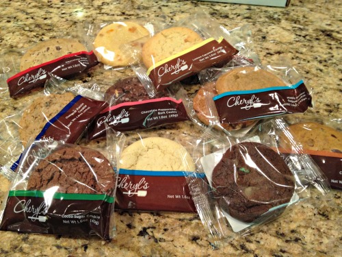 Cheryl's, Gourmet Cookies, Cookie Club Review