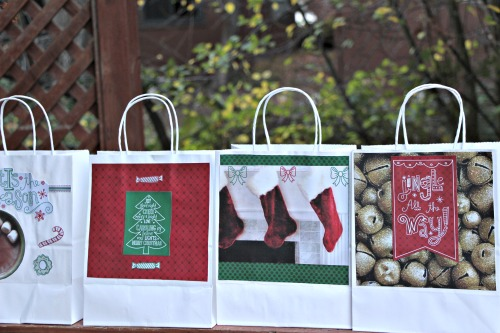 DIY gift bag, #DIY,christmas
