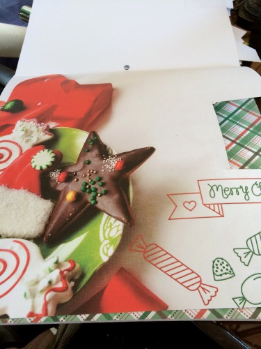 DIY gift bag,#DIY,holiday,christmas,decoupage,Modge Podge