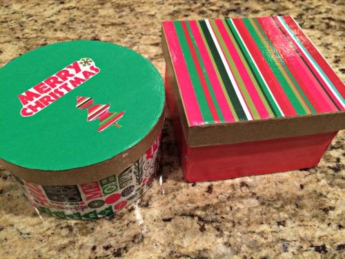 DIY, Holiday,Gift Box,Christmas