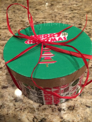 DIY, Holiday,Gift Box,Christmas