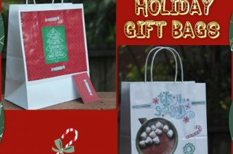 DIY Craft: Christmas Gift Bags and Gift Boxes