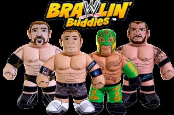 Encourage Roughhousing with WWE Brawlin' Buddies by Mattel