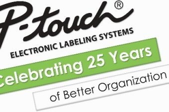 P-touch 25th Anniversary Logo
