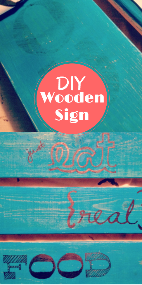 DIY Wooden sign
