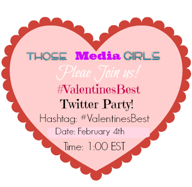 #ValentinesBest,Twitter Party,February 4