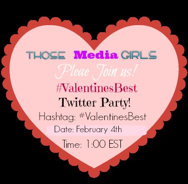 #ValentinesBest,Twitter Party,February 4