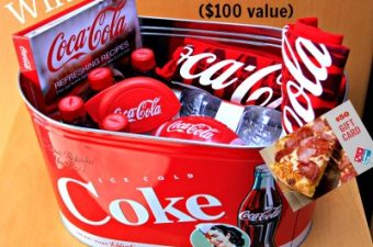 Coca-Cola Big Game Superbowl Commercial and Party Kit
