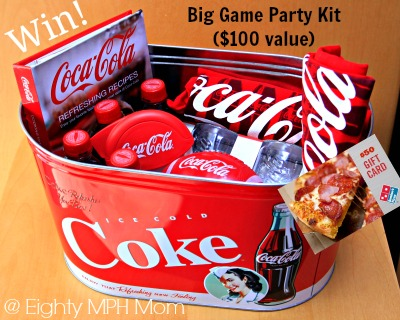 Coca-Cola,Big game,prize pack,go all the way