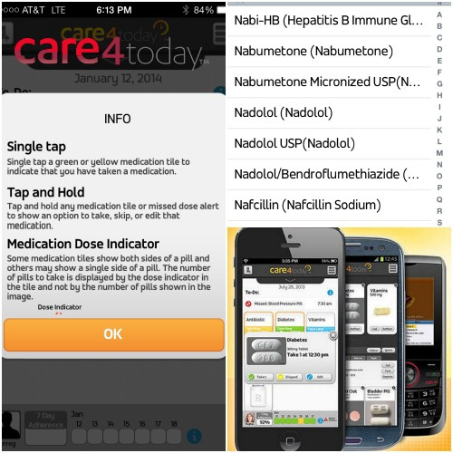 #Care4Today Twitter Party,pill reminder app
