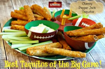 El Monterey Taquitos for Superbowl – the Best Taquitos of the Big Game!