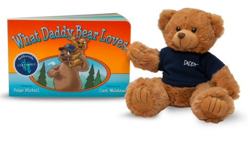 What Daddy Bear Loves Book & Daddy Bear Set