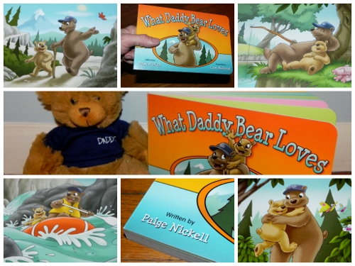 'What Daddy Bear Loves' Book & Daddy Bear Set
