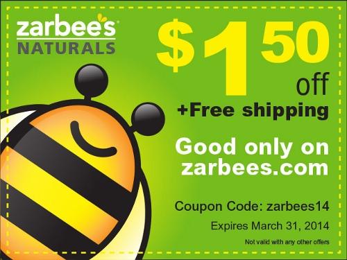 Zarbee's Naturals Coupon