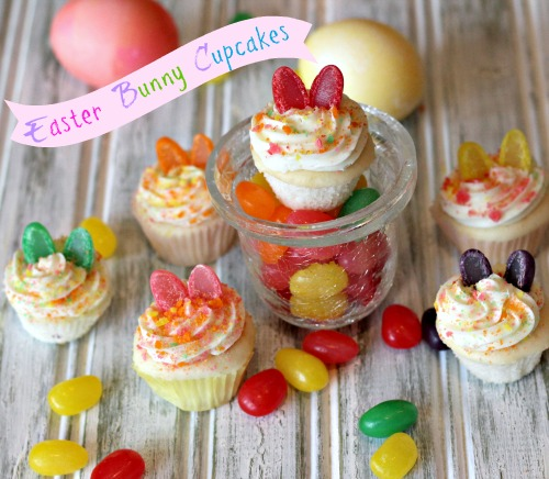 easter bunny,cupcakes,mini,jelly bean,dessert