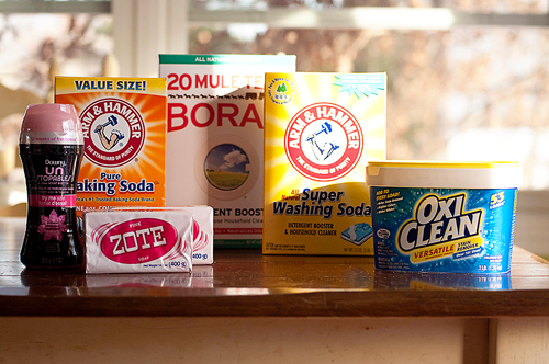 DIY,Laundry Soap,Detergent,recipe,washing soda,borax,zote