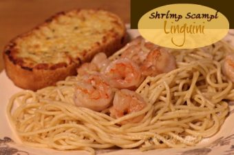 Shrimp Scampi Linguini,Golden Grain,Pot-Sized Pasta