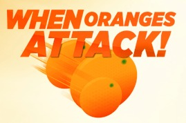 "Minute Maid ""When Oranges Attack"" Game – Fun stuff!"