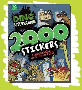 Dino Supersaurus by Parragon 2000 Stickers Book