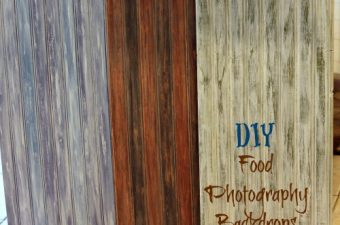 DIY Food Photography backdrops (tutorial)