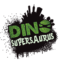 Dino Supersaurus Logo