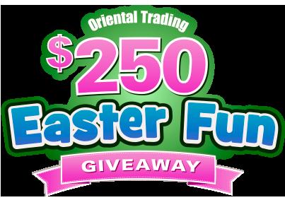 Oriental Trading Easter Fun Giveaway