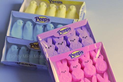 Peeps,marshmallows,bunnies,