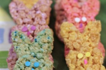 Peeps Easter Bunny Rice Krispie Treats