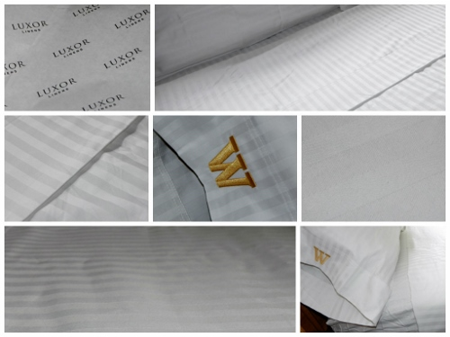 Luxor Linens Collage