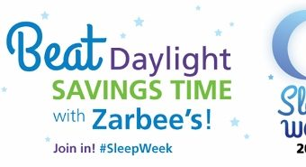 Beat Daylight Savings Time and Enjoy #SleepWeek with Zarbee's Naturals