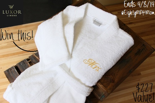 Luxor Linens Giveaway