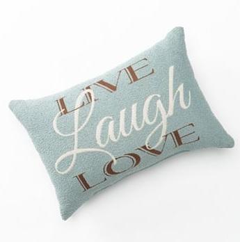 Kohl's Wordsmithing Pillow