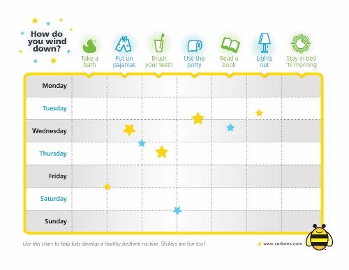 Zarbee's Naturals #SleepWeek Chart