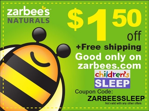 Zarbee's Naturals Children's Sleep Coupon